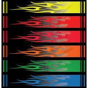 Fluoro Flames