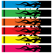 Fluoro Flames v3