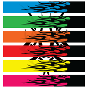 Fluoro Flames v8