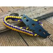 4Life Wrist Slings - Plum / Yellow
