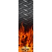 Skull Flame Stabi wrap