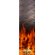 Skull Flame Stabi wrap M4