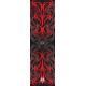 Tribal Wave Stabi wrap Black / Red
