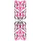 Tribal Wave Stabi wrap White / Pink