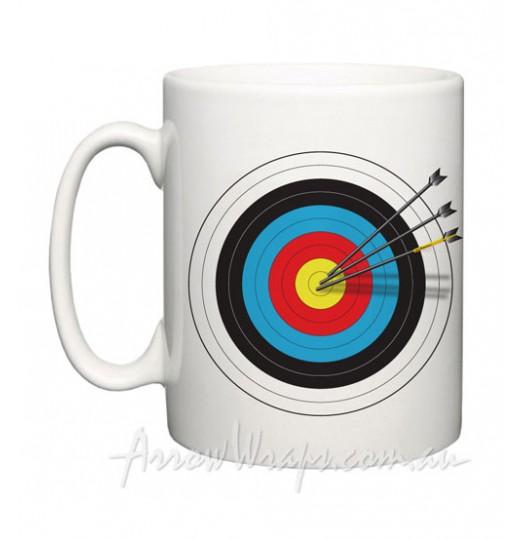 Mug: 001 v2 - 3 Arrow Target
