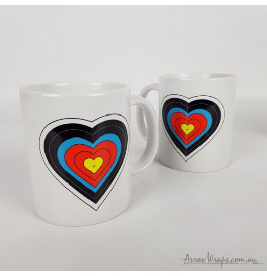 Mug: 021 Target Heart
